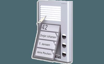 PAK - kompakt portregister