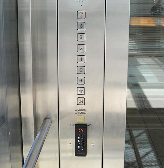elevatorstyring 540 555 - Hisstyrning